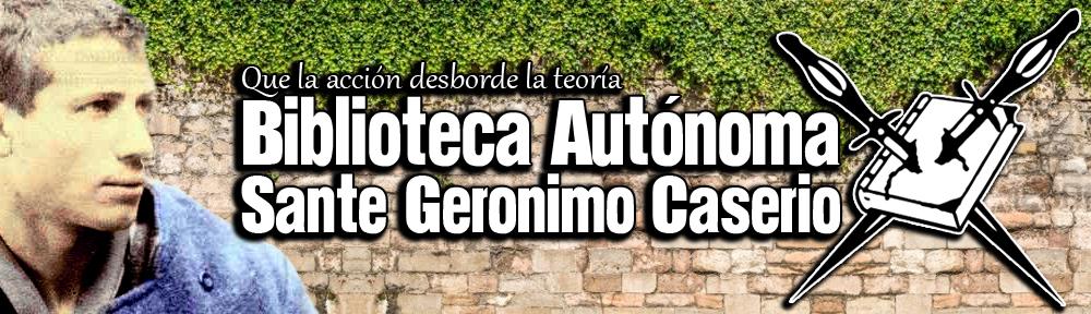Biblioteca Autonoma Sante Geronimo Caserio